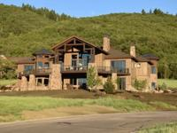 This contemporary mountain luxury home is located on a