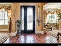 Stunning completely custom luxury home located in a