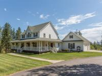 Picture perfect 6 bedroom home surrounded by beautiful