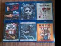 I have 6 blu-ray movies roadhouse and final destination