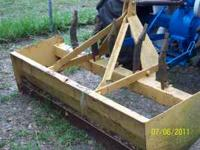 6' Box Blade, Good Shape. $275. FIRM.  Location: