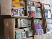 6 Boxes of Various Books Hard Cover & Paper Backs