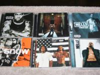 refer to lot C price - $6 lot of 6 cds Rap  Oukast -