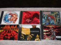 refer to lot F Price- $6 6 cds rock/alternative  Five