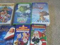 reduced to $5....6 Christmas movies. Call or text  if