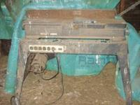 "We have a 6"" Craftman Jointer for sale. Call John at"