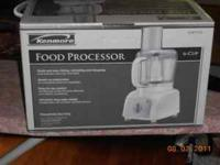 New Kenmore 6-cup food processor Model:08 81112 it was