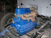 1955 ford engine and transmission completely rebuilt.
