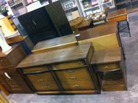 Nice 6 Drawer Dresser with mirror and matching