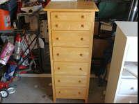 Tall 6 drawer dresser made by Stanley Furniture. It's a