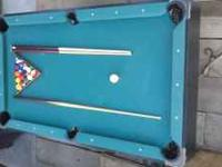 A Perfect Pool Table For A Living Room Its 6 Ft With