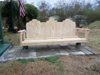 6 Foot Swing Built with All Preasure Treated Lumber to