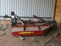 6 ft heavy duty Brush Hog by Howse. Like new used once.
