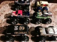 My son is selling his collection of 6 Hot Wheels