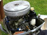 REDUCED!!! 6 HP Johnson Seahorse motor with 3 gallon