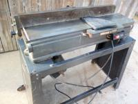 Jointer/Plainer, With Stand, Belt Drive, Sears - Looks