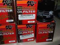 K&N powersports oil filters are 'TUV' product endorsed