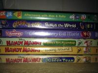 Kid DVDs...all for 20.00 obo.