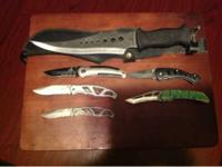 6 piece knife set all for $30. 3 are Gerber and other