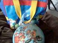 I have a brand new bowling ball and bag.. It doesn't
