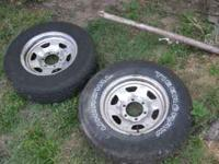 these are off a 65 chevy c10 pic up truck. they are 6