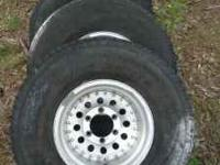 6 lug Aluminum Rims Toyota / Chevy - They have