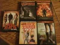 memorex dvd player, rob zomies halloween 1 and 2, not