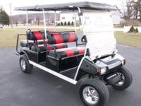2007 Club Car Villager, 6 Passenger,Golf Cart, Kawasaki