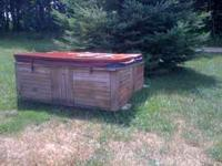6 person hot tub you haul needs a little work. New