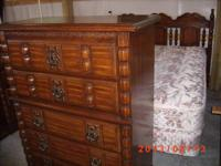 Really nice 6 piece bedroom set, headboard, mattress,