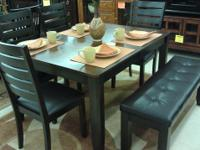 Add distinctive and functional styling to the dining