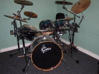 I am selling my drum set and rack. I have played this