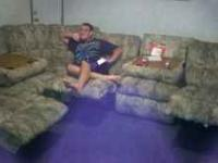 I have a 6 piece sectional sofa for sale for $400.00.