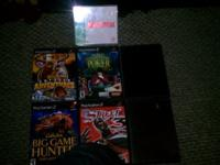 6 PLAYSTATION 2 GAMES  $40 FOR ALL / $10 EA.  CABELAS