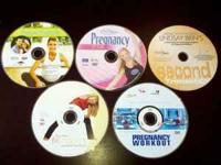 6 Pregnancy Workout DVD's. All of them play fine on a