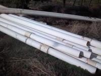 "Aprox. 200' of 6"" sch. 40 PVC pipe. $1.00 a foot. //"