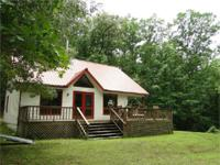 13 ACRES & & HOME WITH 1,177 FEET OF BIG PINEY CREEK