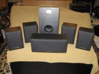 Up for sale I have a Set of 6 Pioneer HTP100 Speakers