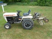 I sold my 1981 MTD 990 Hydrostat Garden Tractor. And