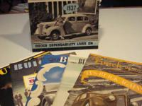 This sale consist of 6 vintage Buick automobile