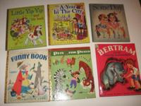 (6) books in very good clean condition. 1958 Bertram