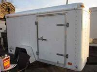 Avenger Enclosed trailer, wide side door, rear barn