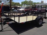 6 X 10 Landscape Trailer Made to order $1349.00 Base
