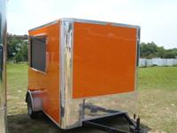 6 x 10 - 2012 model Shaved Ice or Concession Trailer -