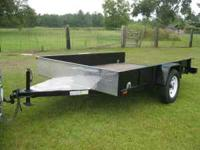 6 x 10 Utility/Motorcycle Trailer - Trailer is one year