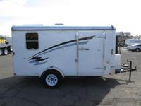 """Pre-Owned 6 x 12 Enclosed Trailer 2,990lb GVWR 2"""""""