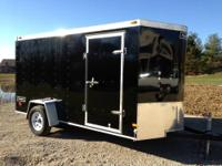 6 x 12 enclosed trailer. Haulmark brand. Heavy duty