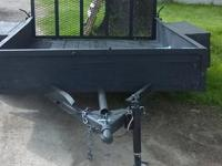 6 x 12 .Sturdy trailer. 6 lugs single axles. Trades and