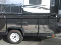 Pre-Owned 6' x 9' Landscape Trailer 2,990lb GVWR Rear