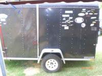 Needed to sell asap! I have a 6x12 enclosed motorcycle